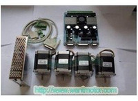 Cheap Good price!Wantai 4 Axis Nema 23 Stepper Motor 57BYGH115-003 & 4 Driver Board TB6560 & 300W power for engraving,cutting machine