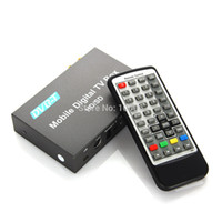 Cheap New Arrival BLH-TM238 Car Mobile Digital HD SD 1080P DVB-T TV Receiver MPEG1 2 4 H264 HDMI Remote Free Shipping # 190270
