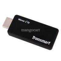 Wholesale Hot New Tronsmart T1000 Mirror TV Miracast DLNA EZCAST High Definition Multimedia Interface USB Host LED Dongle B6 SV004126