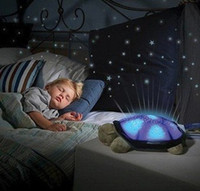 Wholesale Turtle Night Light Stars projector Constellation Lamp toy With light colors Best birthday Gift