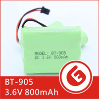 Wholesale BT NI MH V mAh NiMH Rechargeable Cordless Telephone Battery for Panasonic KX A36 HHR P P501 P P504 factory export