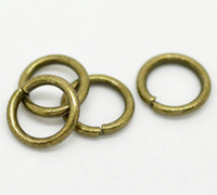 Wholesale Antique Bronze Open Jump Rings mm x mm Findings
