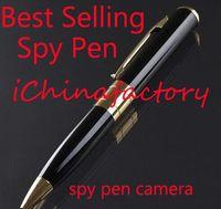 Wholesale Spy Pen Hidden Camera fps HD pen Cameras w TF Card Slot Super Mini DV BPR6 w Spy Hidden Microphone Camcorder without TF Card
