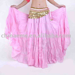 Wholesale 5pcs Tribal Gypsy Belly Dance Dress Bohemian Skirt Womens Costume Accessories Yoga mixed colors