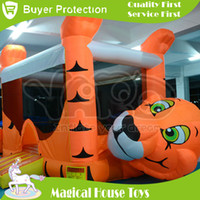 Wholesale BY DHL Bounce House For Sale Trampoline Inflatable Jumping Toys For Kids Jumping Castle