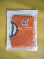 bopp film - 500pcs White translucent BOPP pearl film ziplock bag retail packages for food for case for ipad air cm
