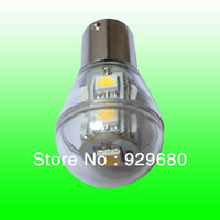 Cheap LED car light,marine light,home light,S8 9SMD 5050LED 2W 1156 1157 1142 base,led canbus bulb,12V AC DC or 10-30V DC,factory sale