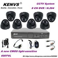 Cheap 600TVL IR Cameras CCTV System 600TVL 8 Ch Surveillance H.264 DVR High Resolution Video Sureilance Camera System