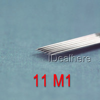 Cheap FREE SHIPPING 11m 1 fork pin professional tattoo needle tattoo equipment tattoo machine disposable needle