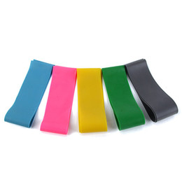 Wholesale Stretch Resistance Bands LOOP Gym Workout Elastic Pilates Yoga Exercise Tubing Freeshipping