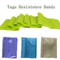 Cheap Wholesale-Crossfit Yoga Resistance Bands Thera Band Tension for Pilates Fitness Gym Body Building Exercise Training Yoga Strap Band GYD8