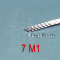 Cheap FREE SHIPPING Line 7 m1 fork pin professional tattoo needle tattoo equipment disposable needle