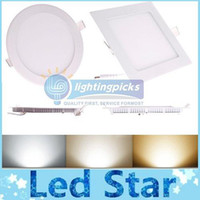 Cheap 21W Led Downlights Recessed Panel Lights Pure White 4500K Warm White 3000K Cool White 6500K AC 85-265V