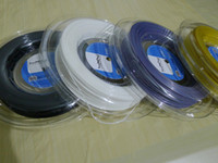 Wholesale 2014 new Luxilon tennis rackets strings big banger alu power m silver black yellow white L tennis string