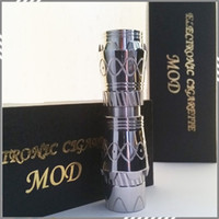 iron man mod - Best Iron Man Mod Stainless Steel Mechanical Maraxus Iron Man Clone Battery Mod Tube Mods Electronic Cigarette DHL Free