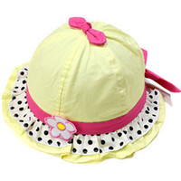 Cheap Children's cartoon hat3078 baby hat children hat baby hat spring and summer princess flower hat bucket hats Korean girlswinter hat