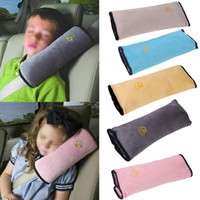 Wholesale Universal Car Covers Seat Safety Belts Pillow Children Safety Strap Shoulder Pillows Protection Cushion bedding Interior Decor K1390