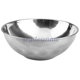 Wholesale Classic Anti Rust Stainless Steel Smooth Rolled Edge Resistant Safe Kids Bowl