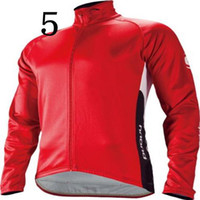 Wholesale New Cycling T shirt High Quality Winter Long Sleeve Cycling Tops with Invisible Zipper Breathable Mens Cycling Jerseys Size from S to XL