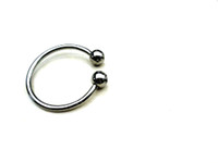 Steel   Cock Ring Stainless Steel Male Chastity Ring Adult Novelty Male Device CD-022