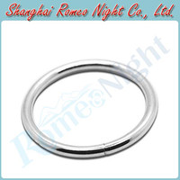 Cheap Stainless Steel Inner Dia 50MM Time Delay Cock Rings, Male Sex Toys Penis Rings Erotic Sex Products