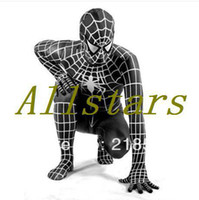 spandex spiderman costume