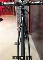 Wholesale 2015 Hot sale K t1000 Matte black complete bike Carbon full racer Road Bicycle Cocycle t1000 matte black carbon firbe full road bike