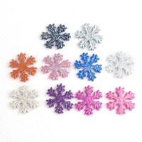 necklace chunky bead - 30 mm New Beads Snowflake Beads Mixed Colors Glitter Acrylic Snowflake Beads for Chunky Necklace