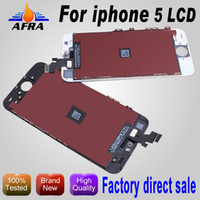 For Apple iPhone LCD Screen Panels  iPhone 5 LCD Replacement Screens iPhone LCD Touch Screen Panel Digitizer Replacement iPhone 5 LCD Assembly iPhone 5 Screen Replacement