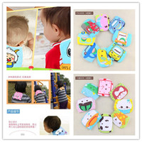Wholesale Children sweat absorbent mat multiple options cartoon gauze baby wipe product four refined white encryption baby back towel cm bag