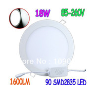led panel light - x W AC V SMD led Panel Light LM Round LED Ceiling Wall Light Recessed Down light Pure White