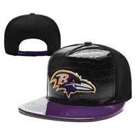 Wholesale Raves Ball Caps Newest Snapbacks Cheap Football Hats Hottest Team Snap Backs Brand Sun Hats Purple Brim Cap High Quality Snap Backs