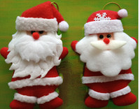 christmas items - Factory direct sale2014 Latest Santa Christmas tree ornaments cheap decoration Santa Claus christmas items gifts
