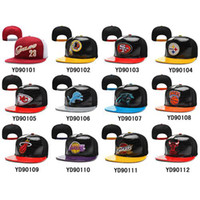 snap back hats - Leather Snapbacks Cheap Ball Caps Football Caps Basketball Snapbacks Popular Sports Team Hats Cool Snap Back Hat Fashion Cap Allow Mix Order