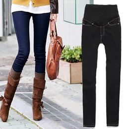 Automne et Hiver 2104 Nouveau Maternité femmes enceintes Pantalon Skinny Jeans Boot Cut 4 Tailles Denim leggings Pencil Trouser 19812