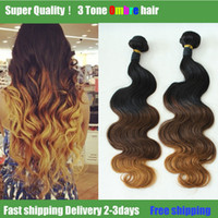 Cheap Ombre Hair Extensions Brazilian Virgin Hair Body Wave 1B4# 27 Brazilian Curly Hair 2 Bundles Unprocessed Human Hair Remy Weave
