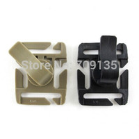 hose clip - plastic backpack buckle Rotating Sternum Strap Tube Pipe Hose Clip Holder
