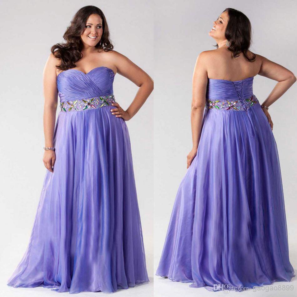 Sexy Graduation Dresses Purple Prom Dresses Sweetheart Crystal ...