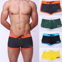 boxers - Hot Stylish Men s Boxer Underwear Front Tie Boxer Shorts Swim Trunks Pant SV003867