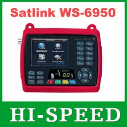 Wholesale 1pc Original Satlink WS quot Digital Satellite Signal Finder Meter WS6950 WS