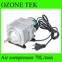 air compressor tank - LF L min electromagnetic type ac220v air compressor tank ozone generator parts aquarium supplies air pump