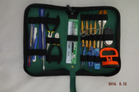 Wholesale New Tools Repair Kit Opening Pry Screwdriver Set Fit for iPhone G S G ipad H341