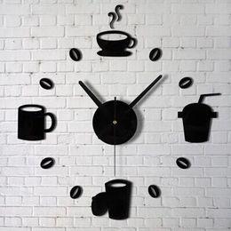 New Fashion Acrylic DIY Self Adhesive Interior Wall Creative Decoration Clock Jecksion