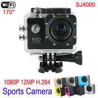 action camera - 1080P Full HD Sports Camera Gopro Style Action Sport waterproof Camera with Wifi Support by Phone Tablet Sport Action Camera MP H
