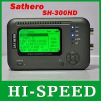 Buscador hd sathero Baratos-La ayuda satelital USB2.0 del metro del buscador de Sathero SH-300HD DVB-S / S2 HD Digital libera el envío