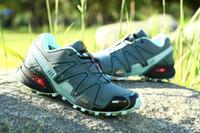 Wholesale Salomon Running shoes Speedcross CS for Men Athletic Running Shoes Walking Ourdoor Sport Shoes