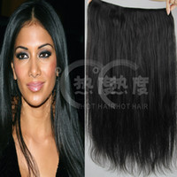 Wholesale 2014 new hair products unprocessed a virgin brazilian hair flip in hair extensions inch malaysian hair peruvian hair Indian hair weave