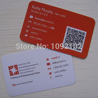 Wholesale standard size mm thickness pvc plastic business cards