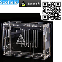 Wholesale Slim Slight Transparent Acrylic Case for Banana Pi