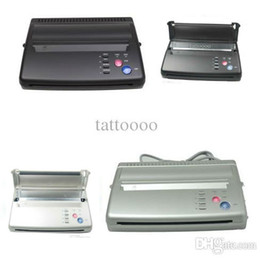 Wholesale Top Quality Tattoo Thermal Transfer Copier Machine Tattoo Stencil Transfer Machine Tattoo Stencil Flash Printer Hectograph Supplies DHL Free